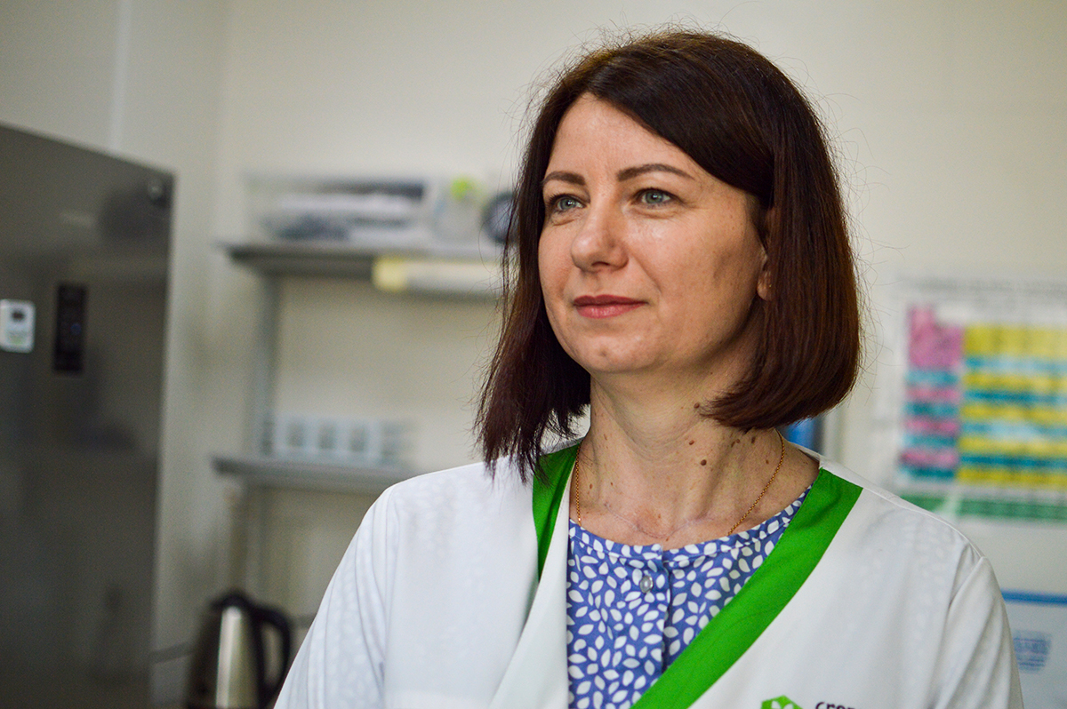 Ірина Перехрест, керівник сервісно-аналітичного центру «Інституту здоров'я рослин»