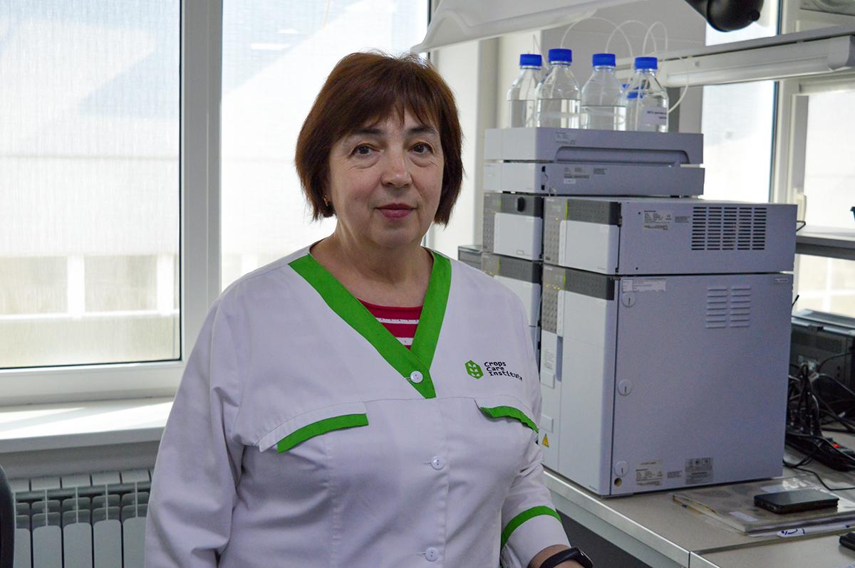 Світлана Скульбашевська, начальник хроматографічної лабораторії «Інституту здоров'я рослин»